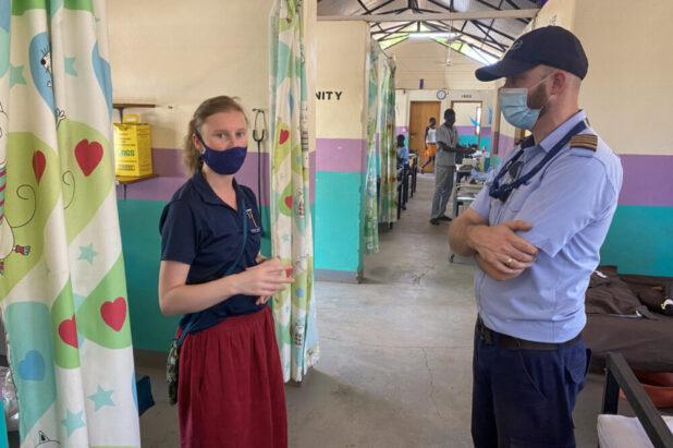 Zulieferer für ein Spital im Südsudan