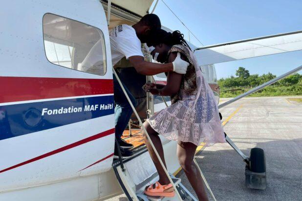 Haiti: MAF macht mit Hilfsflügen einen Unterschied nach Erdbeben